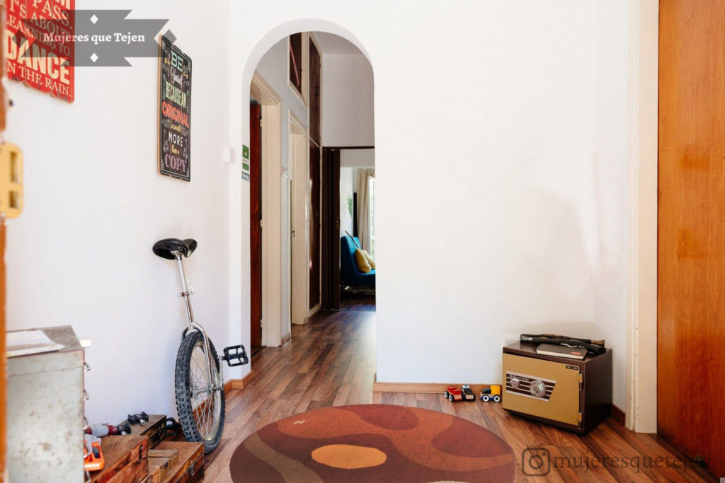 Round Rug With A Modern Mexican Design, Liquid Laminators Flooring